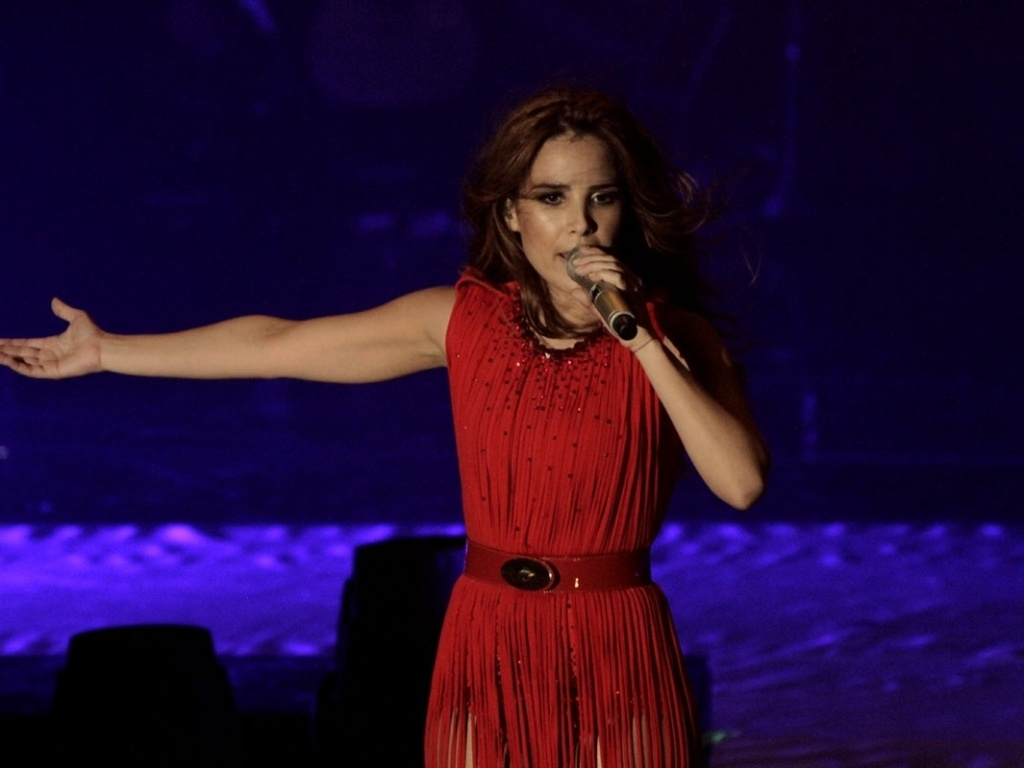 5.mai.2013 - Cantora Wanessa apresenta a