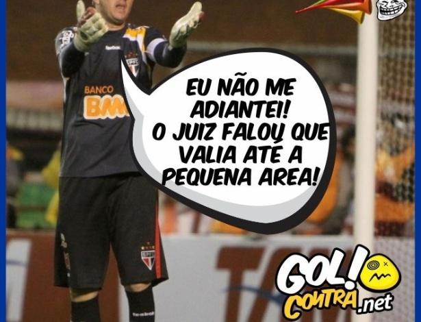 Corneta FC: Rogério Ceni insiste que não se adiantou