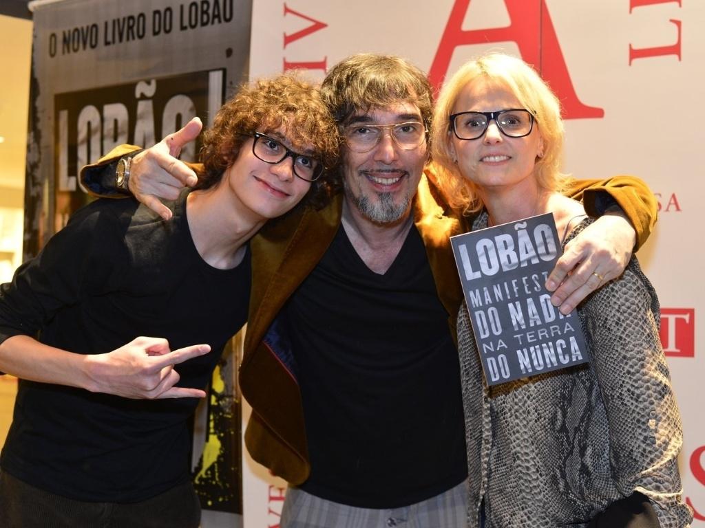 6.mai.2013 - O músico Lobão lança o livro