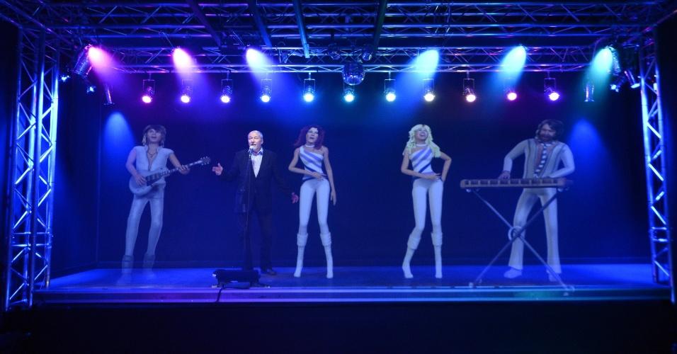 """6.mar.2013 - ABBA - O Museu será aberto ao público na terça-feira (7) e reconta a história do grupo pop, dono dos sucessos """"Mamma Mia"""" e """"Dancing Queen"""""""