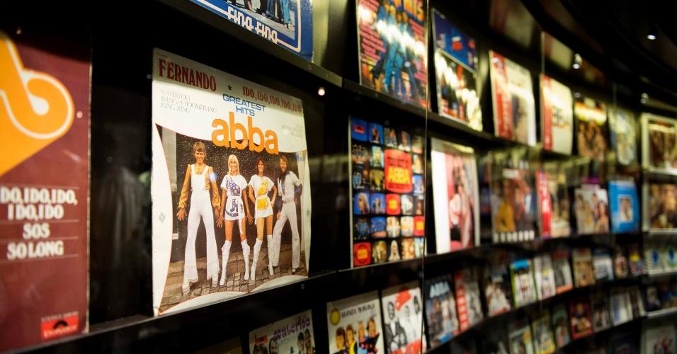 6.mar.2013 - Museu reconta história do fenômeno pop, que se terminou em 1982, após vender mais de 420 milhões de discos