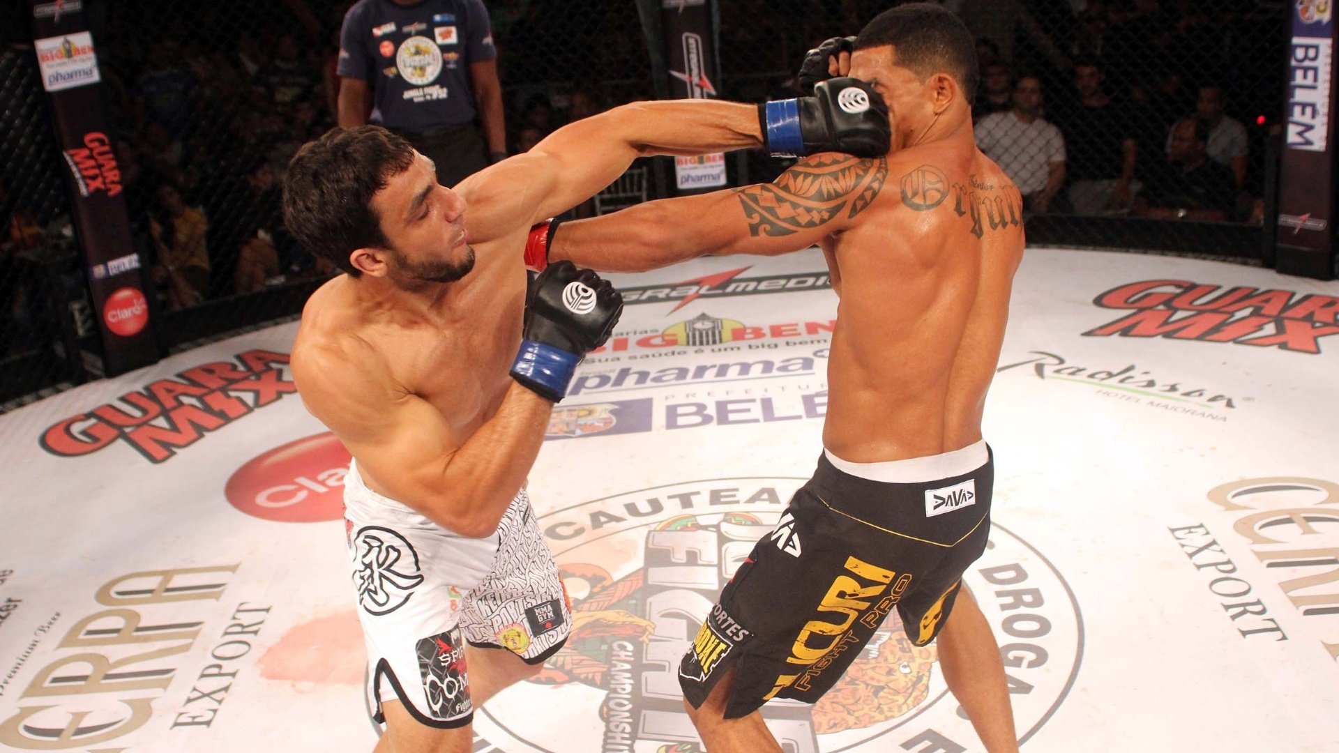 Elias Silvrio  o novo campeo dos meio-mdios do Jungle Fight
