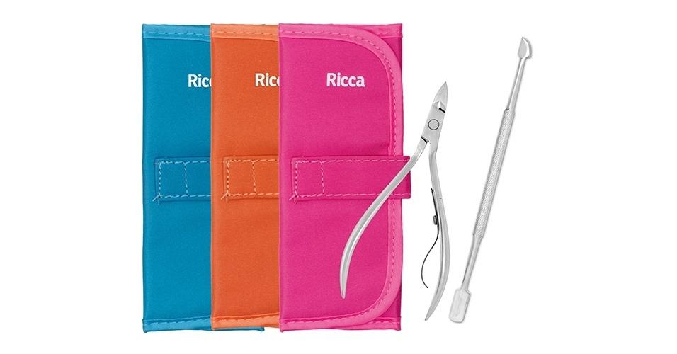Kit manicure, Ricca
