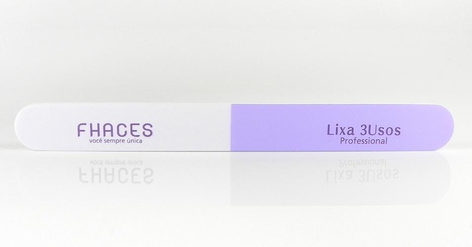 Lixa 3 usos, Fhaces