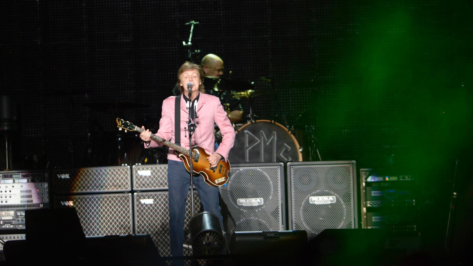 6.mai.2013 - Esta é a quarta viagem de Paul ao Brasil desde 2010, quando ele voltou ao país depois de 17 anos para shows em Porto Alegre e São Paulo da turnê