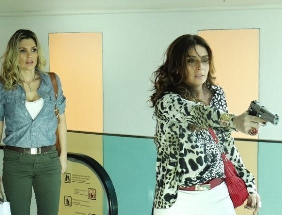 """Em """"Salve Jorge"""", Helô salva Érica de atentado"""