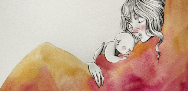 Quanto mais carregadas no colo nos primeiros meses de vida, mais serenas as crianças tendem a ser