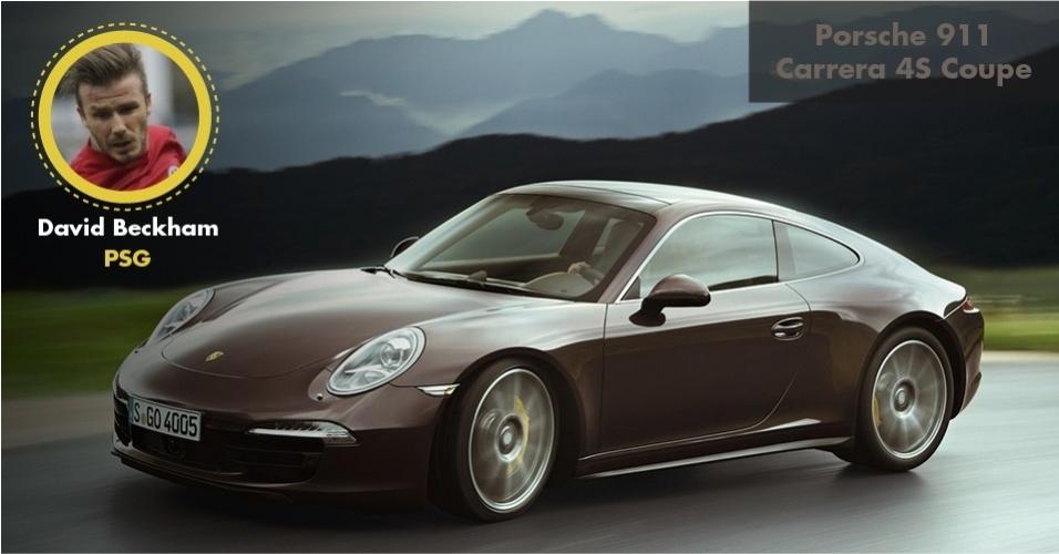 O veterano jogador também tem um Porsche 911 Carrera S Coupé, que vale um pouco mais de R$ 500 mil