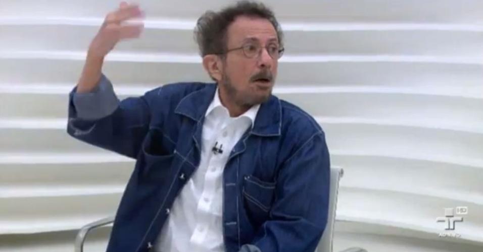 Tom Zé no programa