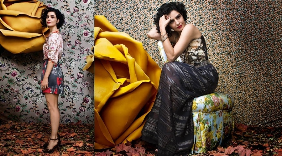 8.mai.2013 - Letícia Sabatella posa para a revista