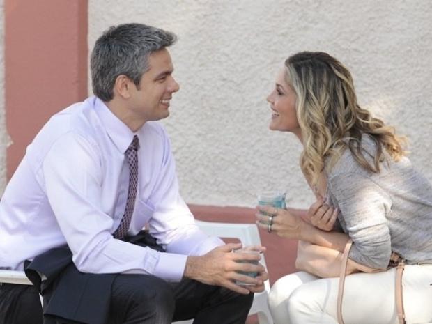 """Marido e mulher na vida real, Flávia Alessandra e Otaviano gravam juntos cenas de """"Salve Jorge"""""""