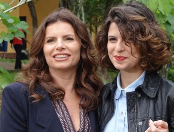 Debora Bloch Filhos Debora Bloch e a filha Julia