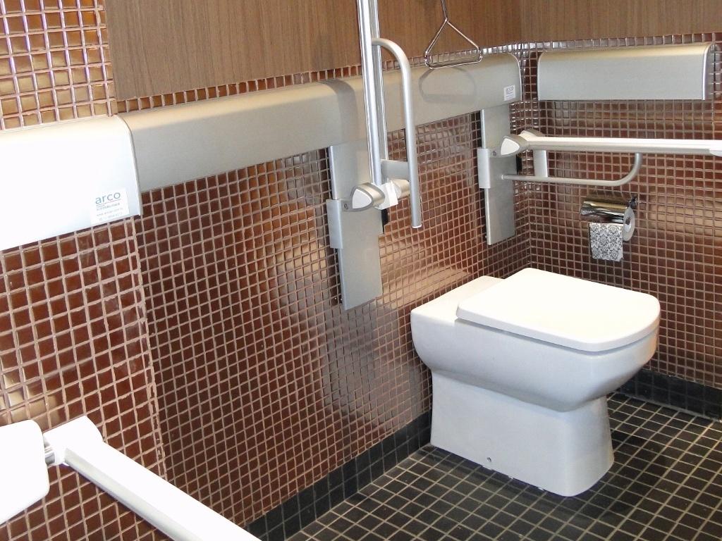 ou com mobilidade reduzida a área do vaso sanitário do banheiro  #674335 1024x768 Banheiro Acessivel Com Pia