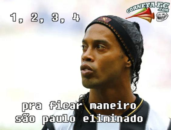 """Segunda eliminação fecha """"semana perfeita"""" de zoações com o São Paulo"""