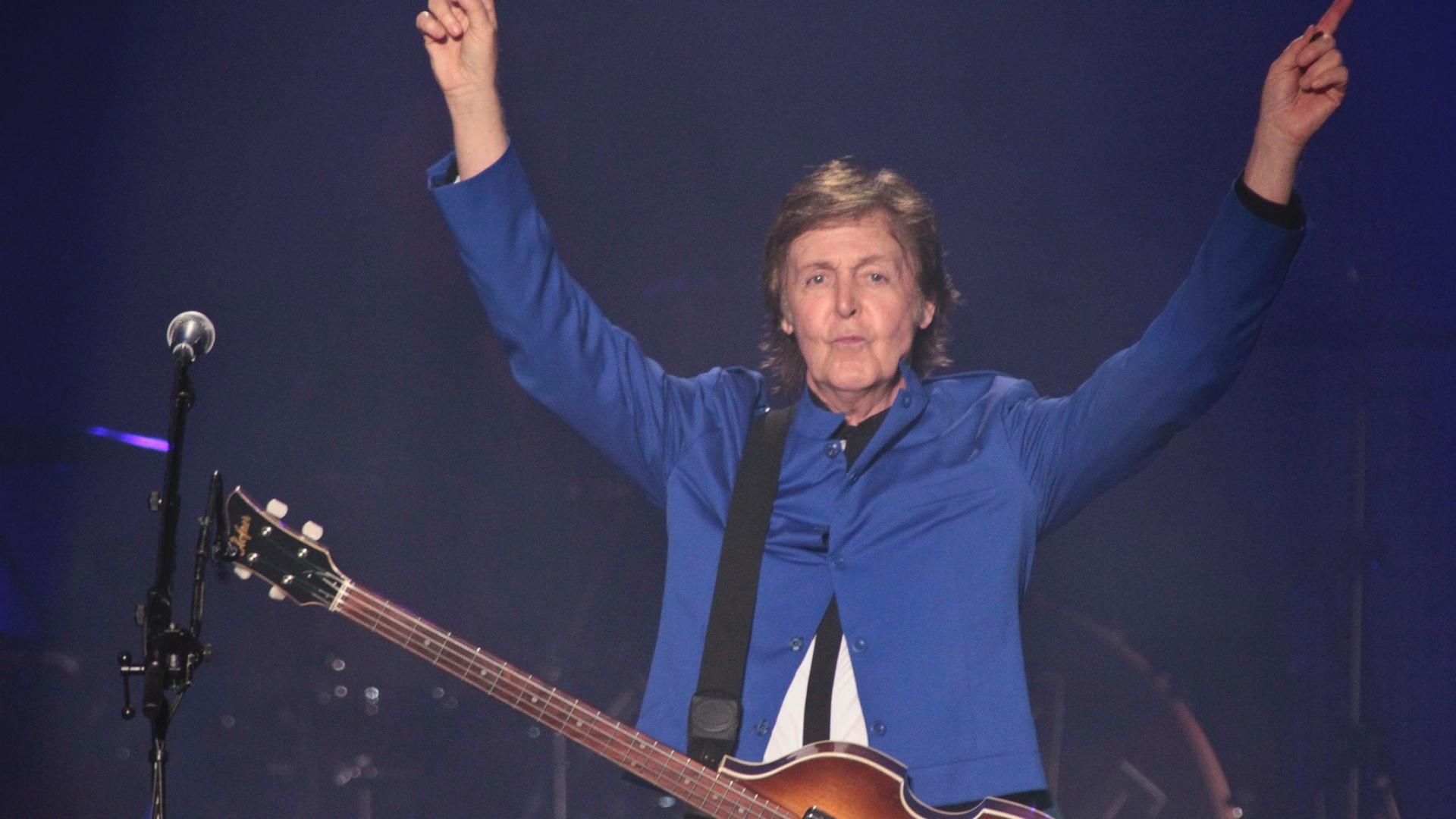 9.mai.2013 - Paul McCartney se apresenta no último show no Brasil da turnê