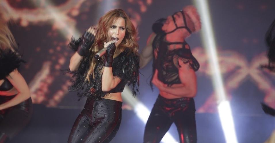 10.mai.2013 - Wanessa se apresenta no show de lançamento do