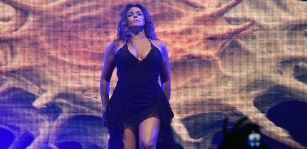 11.mai.2013 - Após oito anos sem fazer show em Recife, Daniela Mercury apresenta o show de sua turnê Canibália na festa Odara Ôdesce na capital pernambucana
