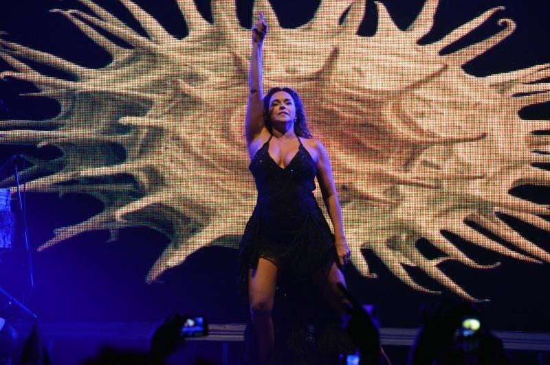 11.mai.2013 - Após oito anos sem fazer show em Recife, Daniela Mercury apresentou o show de sua turnê Canibália na festa Odara Ôdesce na capital pernambucana