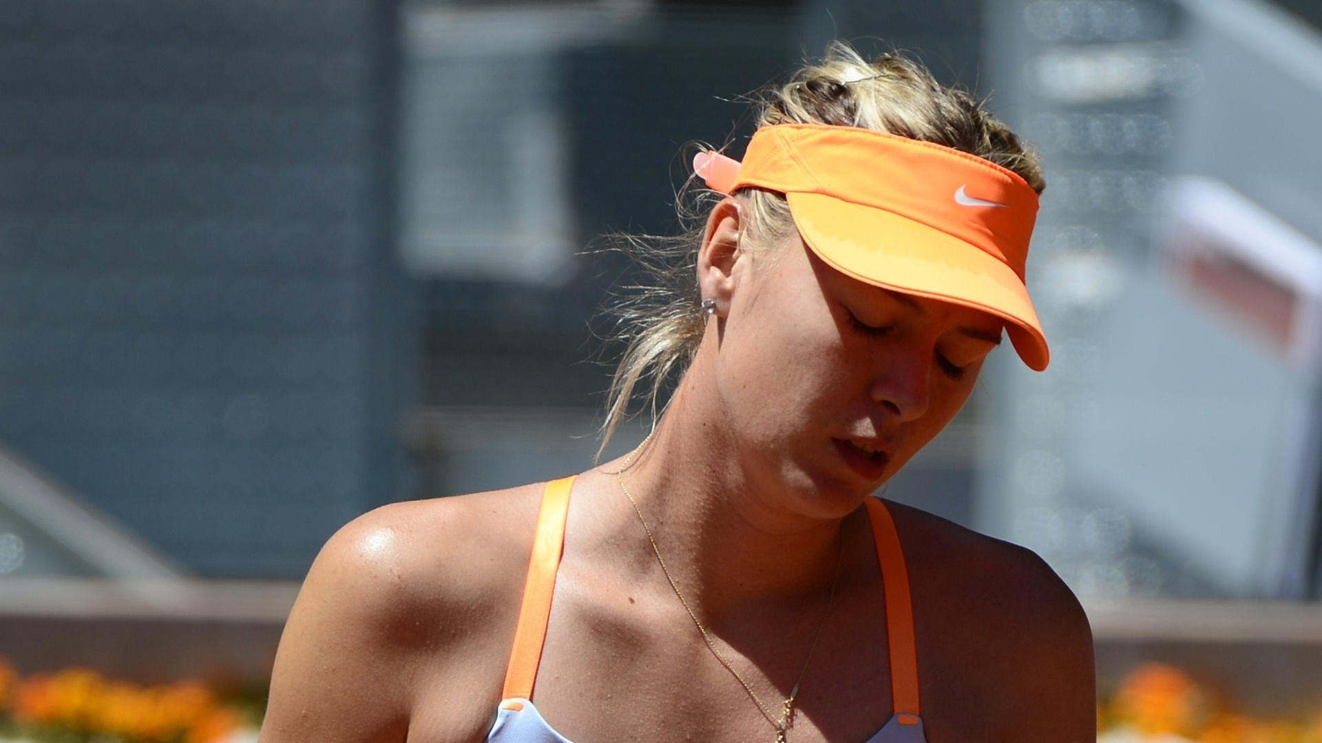 12.mai.2013 -  Maria Sharapova no vence Serena Willians desde 2004