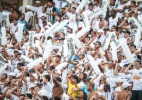 Torcida do Santos mantm 'catimba' e perturba Corinthians com foguetrio em hotel