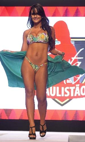13.05.2013 - Amanda Sati, do Guarani, é eleita a Gata do Paulistão 2013