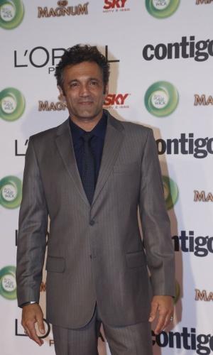 13.mai.2013 - O ator Domingos Montagner participa do 15º Prêmio Contigo!, no Copacabana Palace, no Rio de Janeiro