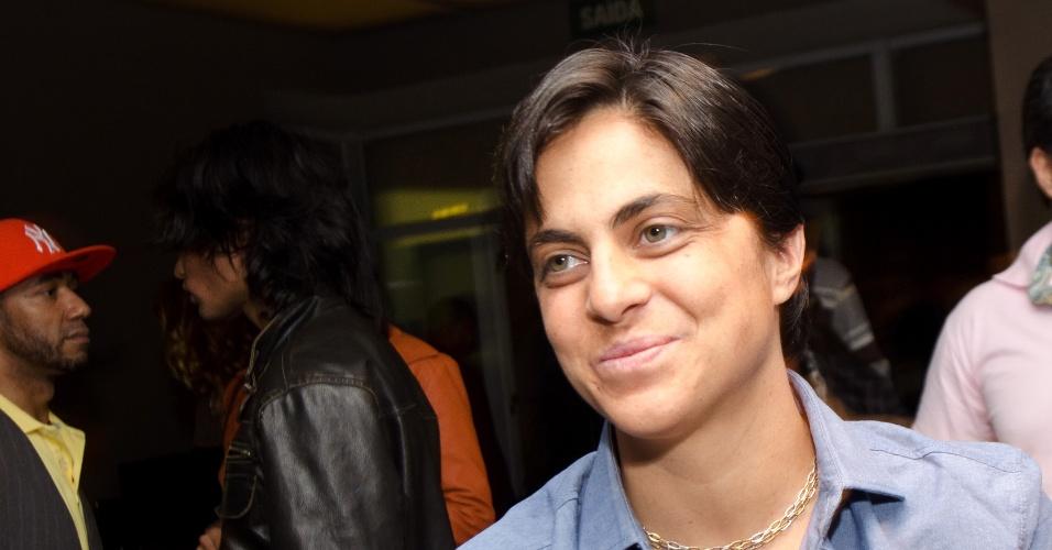 13.mai.2013 - Thammy Miranda contou que chegou a apanhar da mãe, a Gretchen, quando contou ser homossexual, e em 2006 resolveu assumir publicamente e adotar um visual mais masculino.