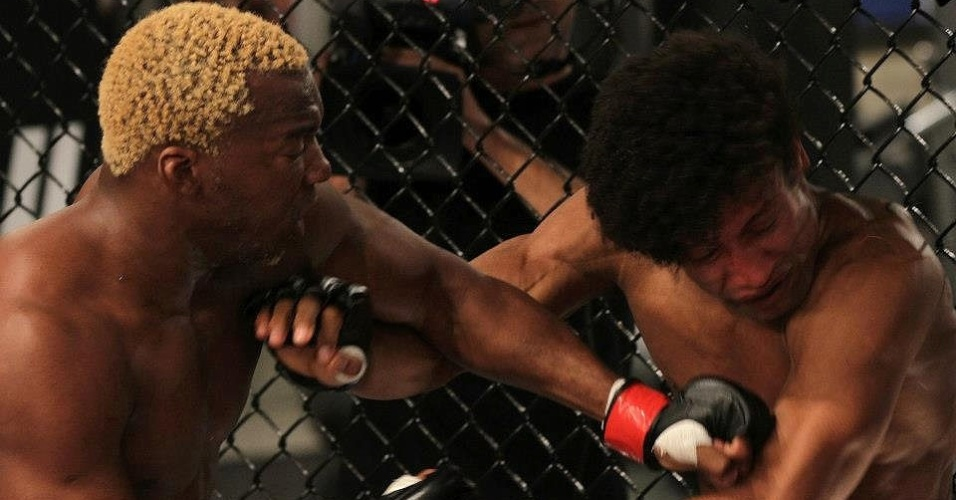 William Patolino nocautou Tiago Alves e foi o primeiro classificado para a semifinal do TUF Brasil 2