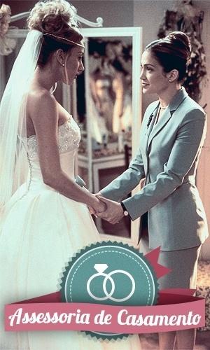 Montagem para matéria de Casamento sobre filmes que podem ajudar na organização do casamento - O Casamento dos meus Sonhos