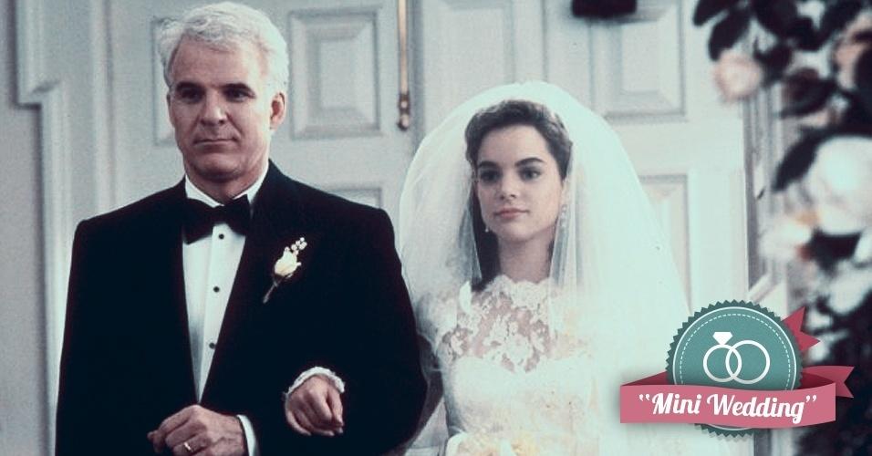 Montagem para matéria de Casamento sobre filmes que podem ajudar na organização do casamento - O Pai da Noiva