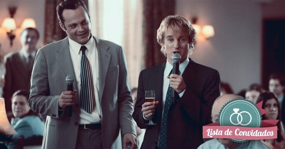 Montagem para matéria de Casamento sobre filmes que podem ajudar na organização do casamento - Penetras Bons de Bico