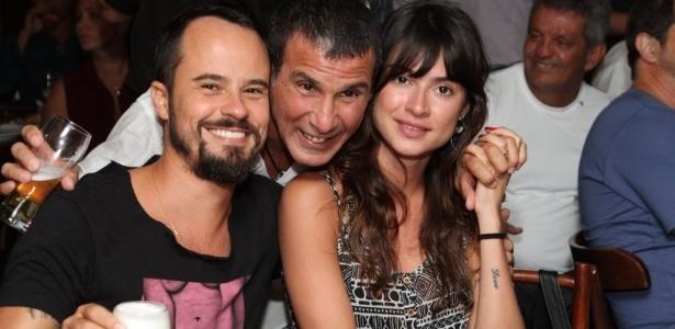 14 mai.2013 - Paulo Vilhena, Eri Johnson e Thaila Ayala