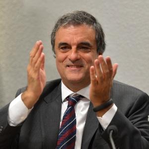 O ministro da Justiça, José Eduardo Cardozo, participou de uma audiência pública na CCJ