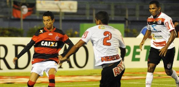 Flamengo superou o Campinense (foto) e agora enfrenta o Asa pela Copa do Brasil