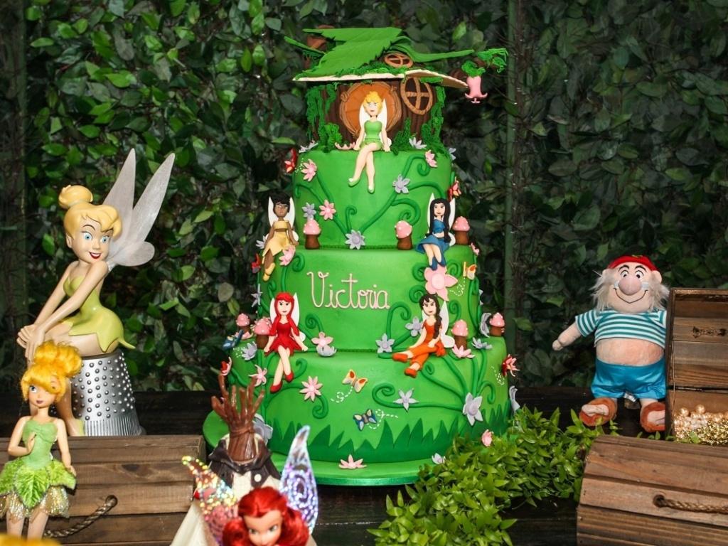 15.mai.2013- O tema da festa dos três anos de Victória, filha da apresentadora Mariana Kupfer, era fadas e duendes