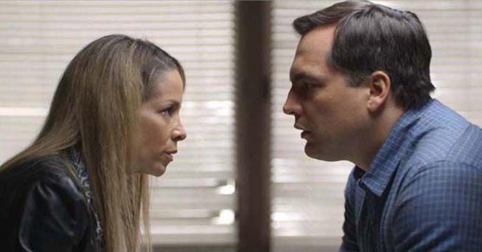 Danielle Winits e Daniel Boaventura em cena do filme