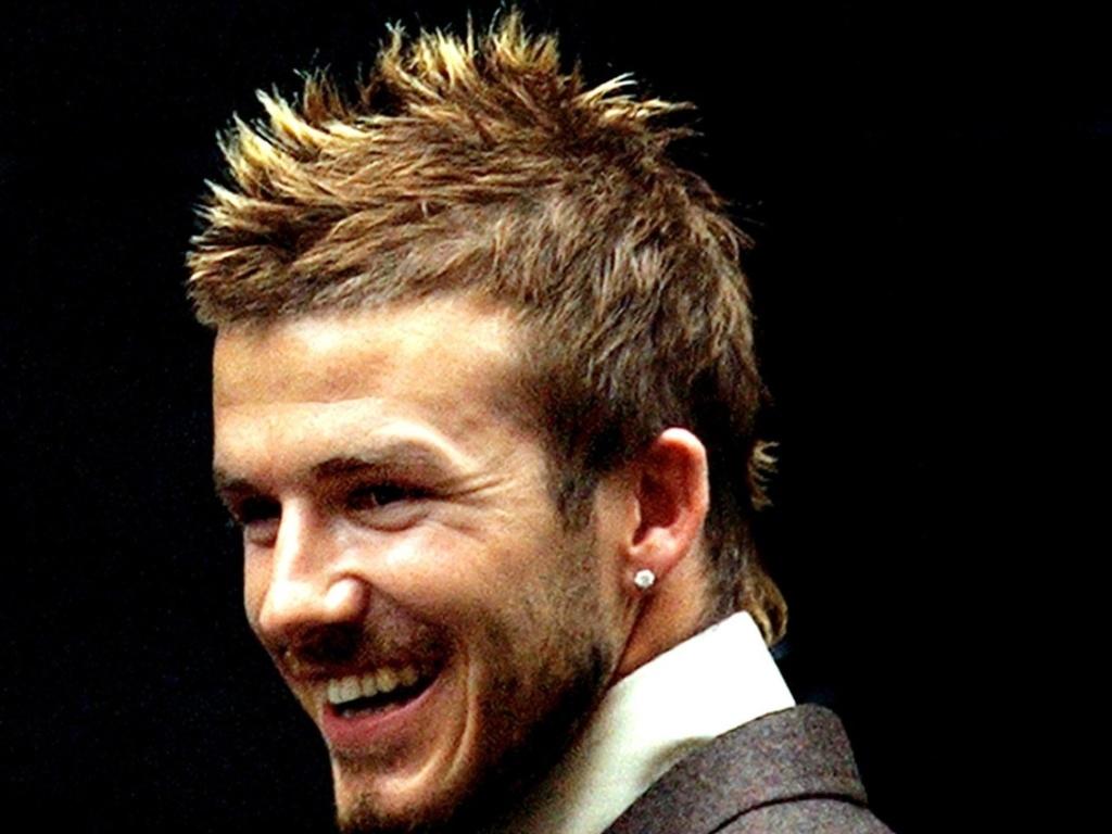 09.mai.2012 - Beckham com seu corte moicano que conquistou o Oriente durante a Copa do Mundo de 2002, na Coreia do Sul e Japão