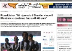 Ronaldinho diz a jornal italiano que quer jogar pelo menos at 40 anos