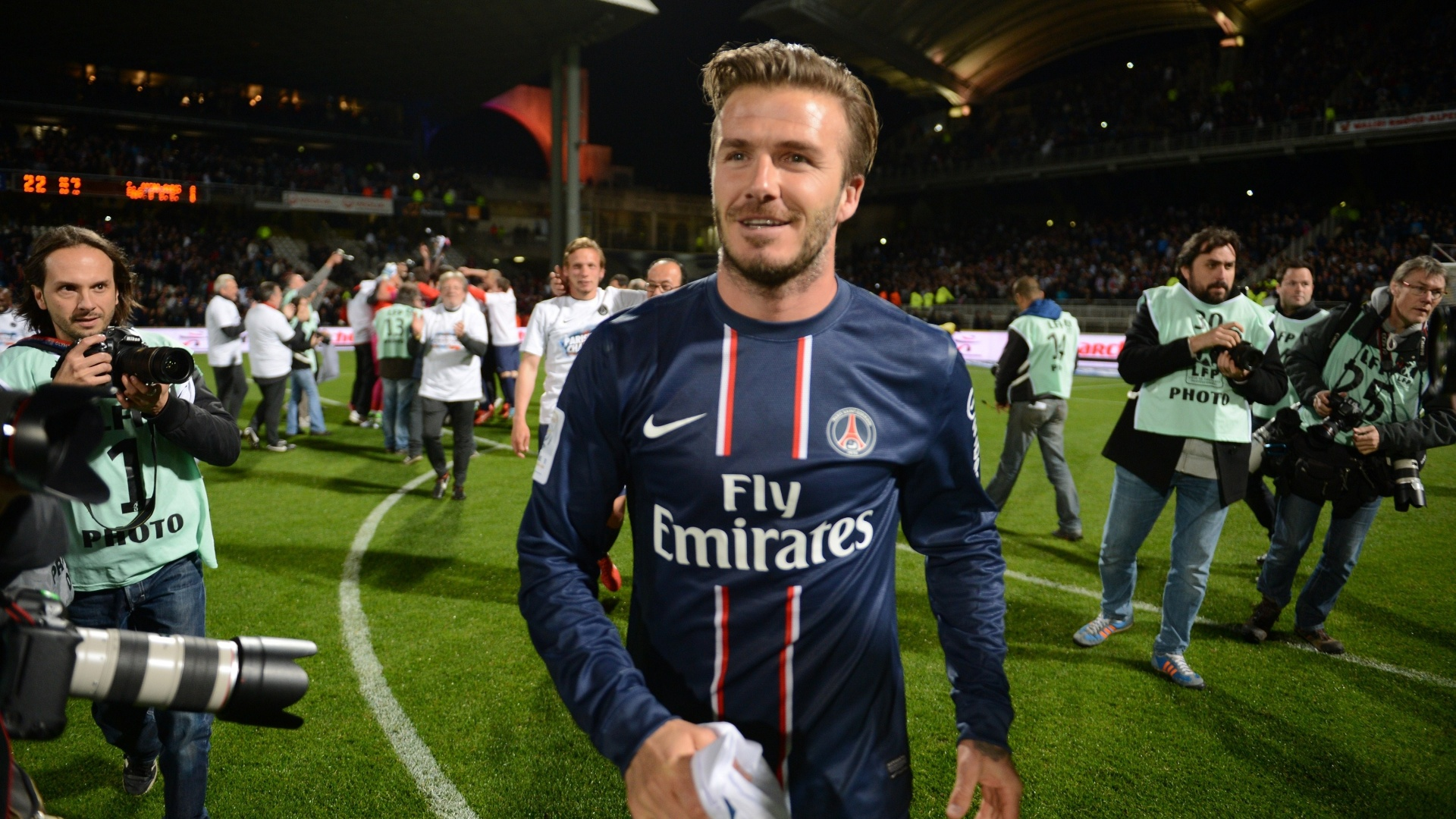 David Beckham se despede do futebol