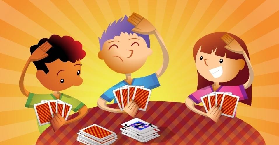 jogo com baralho Bom Dia, Meu Senhor, para crianças a partir de 5 anos