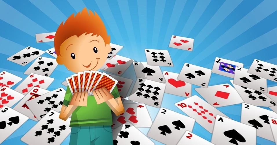 jogos com baralhos para se fazer com crianças