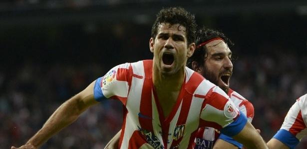 Brasileiro Diego Costa terminou a Copa do Rei como artilheiro, com oito gols