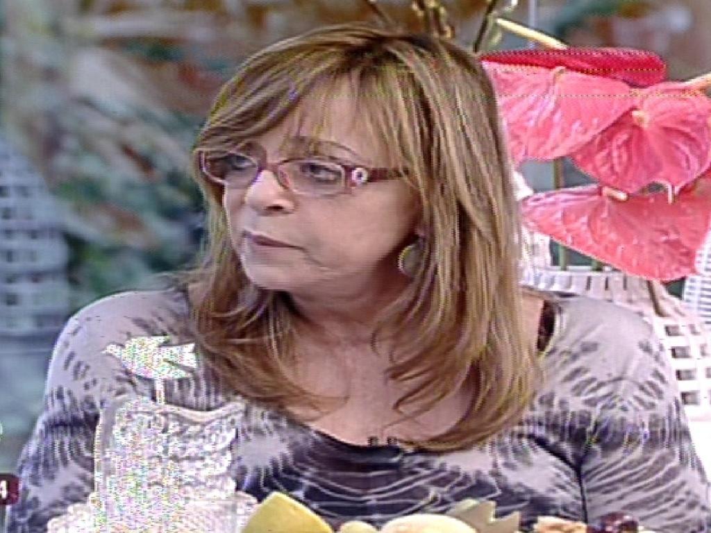 17.mai.2013 - Glória Perez fala sobre