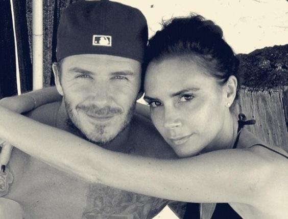 17.mai.2013 - Victoria Beckham publica mensagem de apoio à aposentadoria de David