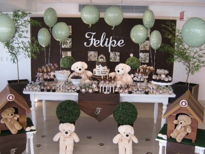 festa jardim dos ursos:Decoração chá de bebe ou de fralda