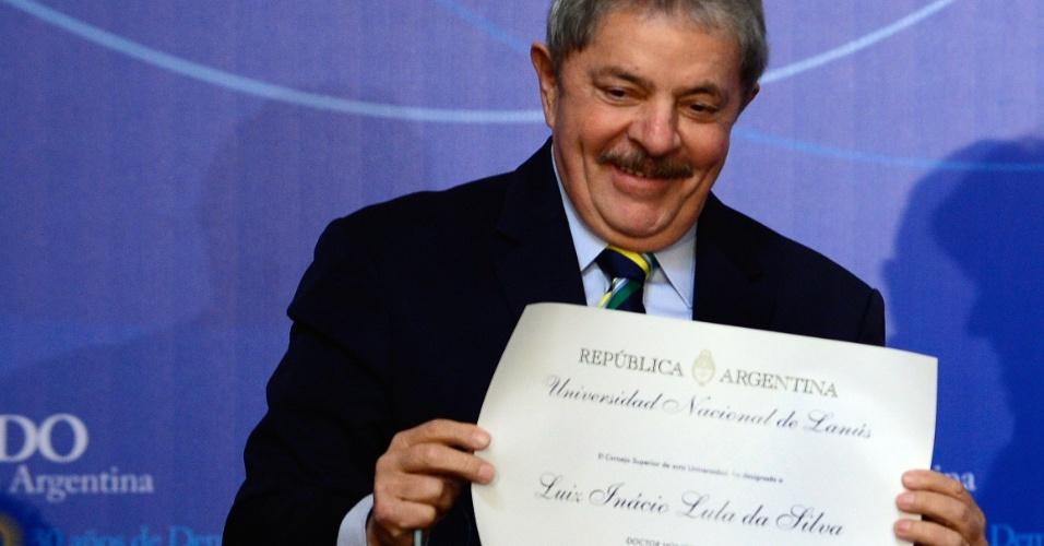 Lula, honoris causa, argentina