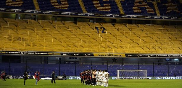 Boca foi punido e torcida não pôde acompanhar o jogo contra o Colón, pelo Argentino