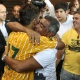 Rom&aacute;rio homenageia filho ap&oacute;s t&iacute;tulo estadual pelo Brasiliense com gol na final