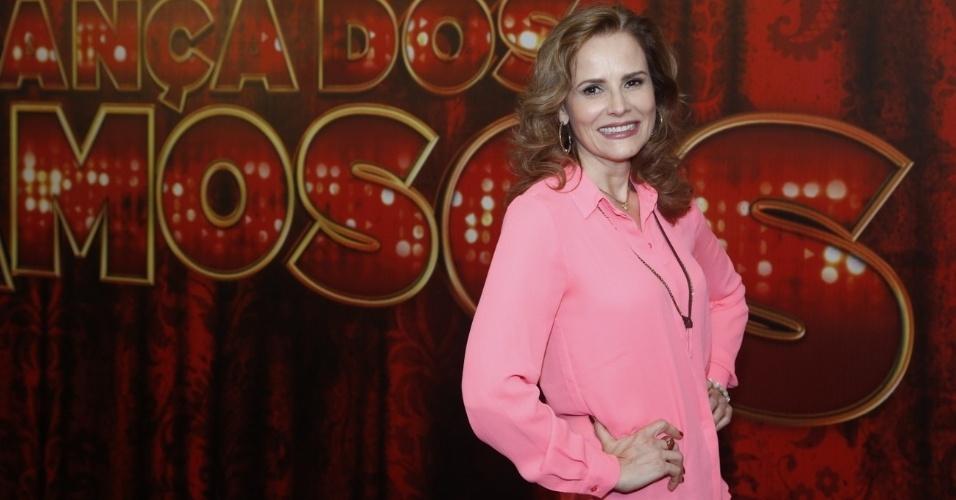 """19.mai.2013 - A atriz Bia Seidl é uma das participantes da """"Danças dos Famosos 2013"""""""