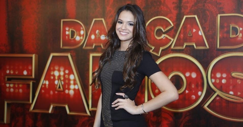 """19.mai.2013 - A atriz Bruna Marquezine é uma das participantes da """"Danças dos Famosos 2013"""""""